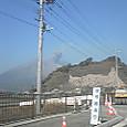 まさに、桜島爆発