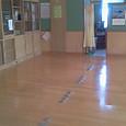 学年室、大掃除