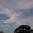 秋というかんじの雲だなー。