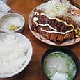 竹亭のトンカツ定食