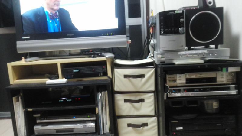 Blu-rayデッキ やっと修理が終わった。
