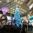 鹿児島中央駅のクリスマスツリー
