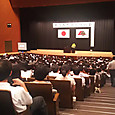 市教育講演会です。